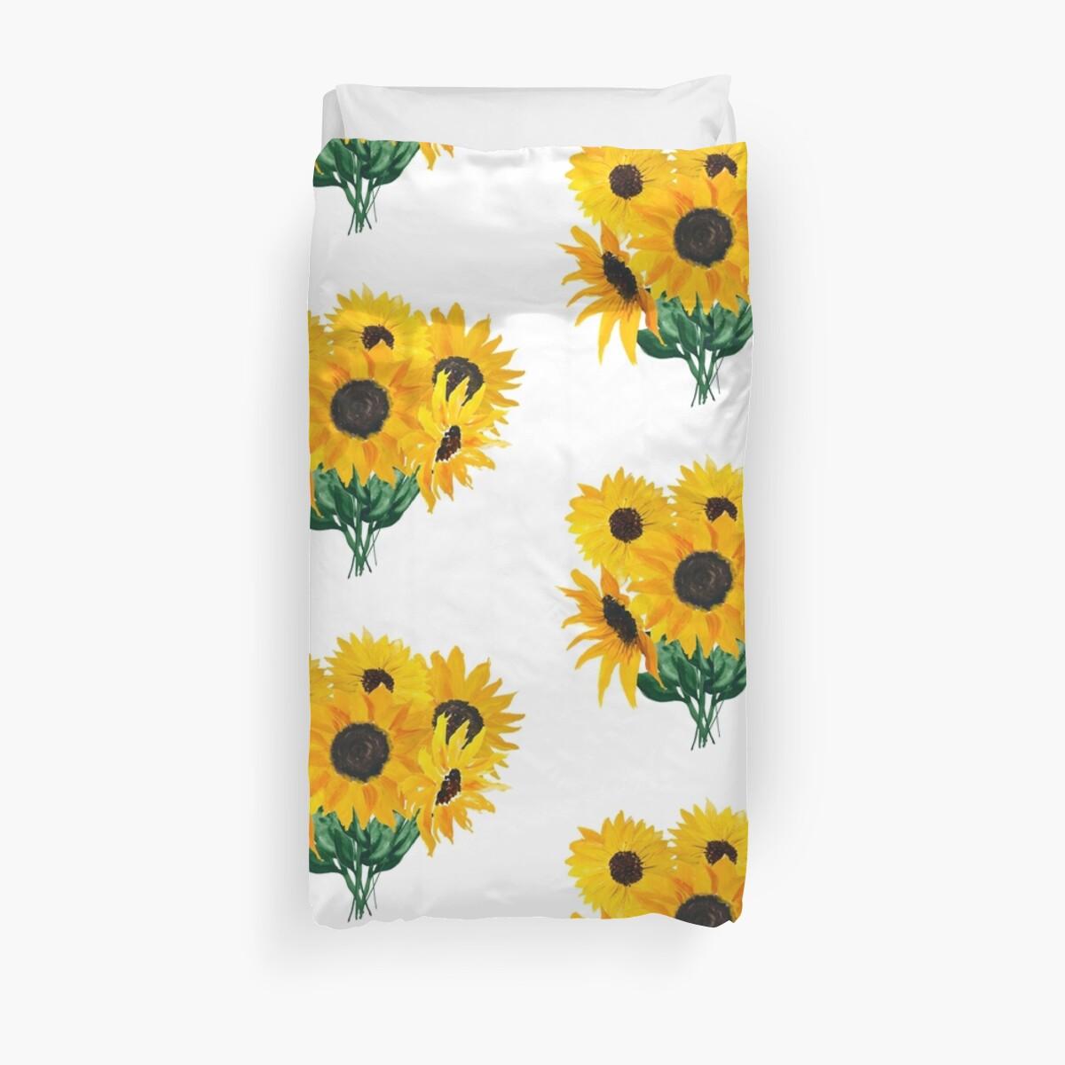 Gemalter Sonnenblumenstrauß von Ilze Lucero