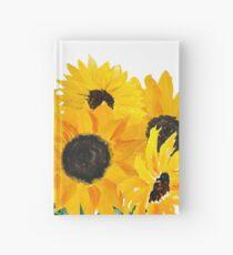 Gemalter Sonnenblumenstrauß Notizbuch