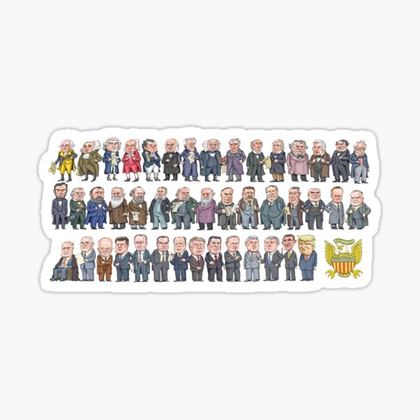 Presidents of the United States Sticker