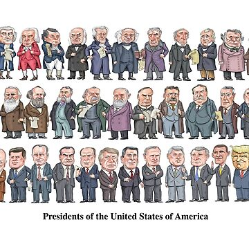 Presidents of the United States by MacKaycartoons