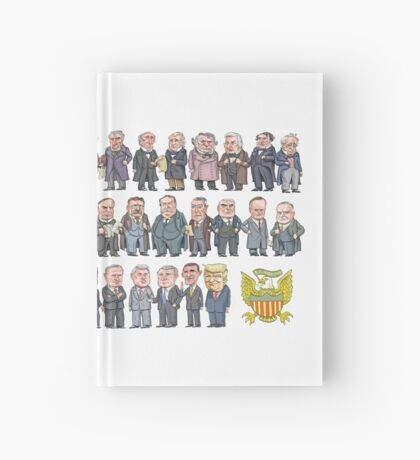 Presidents of the United States Hardcover Journal