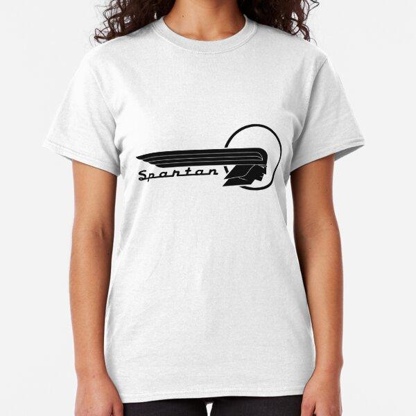 Eat Sleep Camping Ladies Fitted T-Shirt Camper TShirt Caravan Motorhome T Shirt
