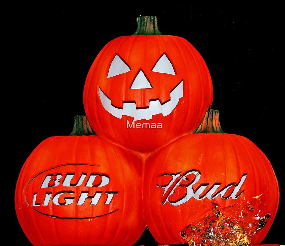 Happy Halloween Bud Fans by Memaa