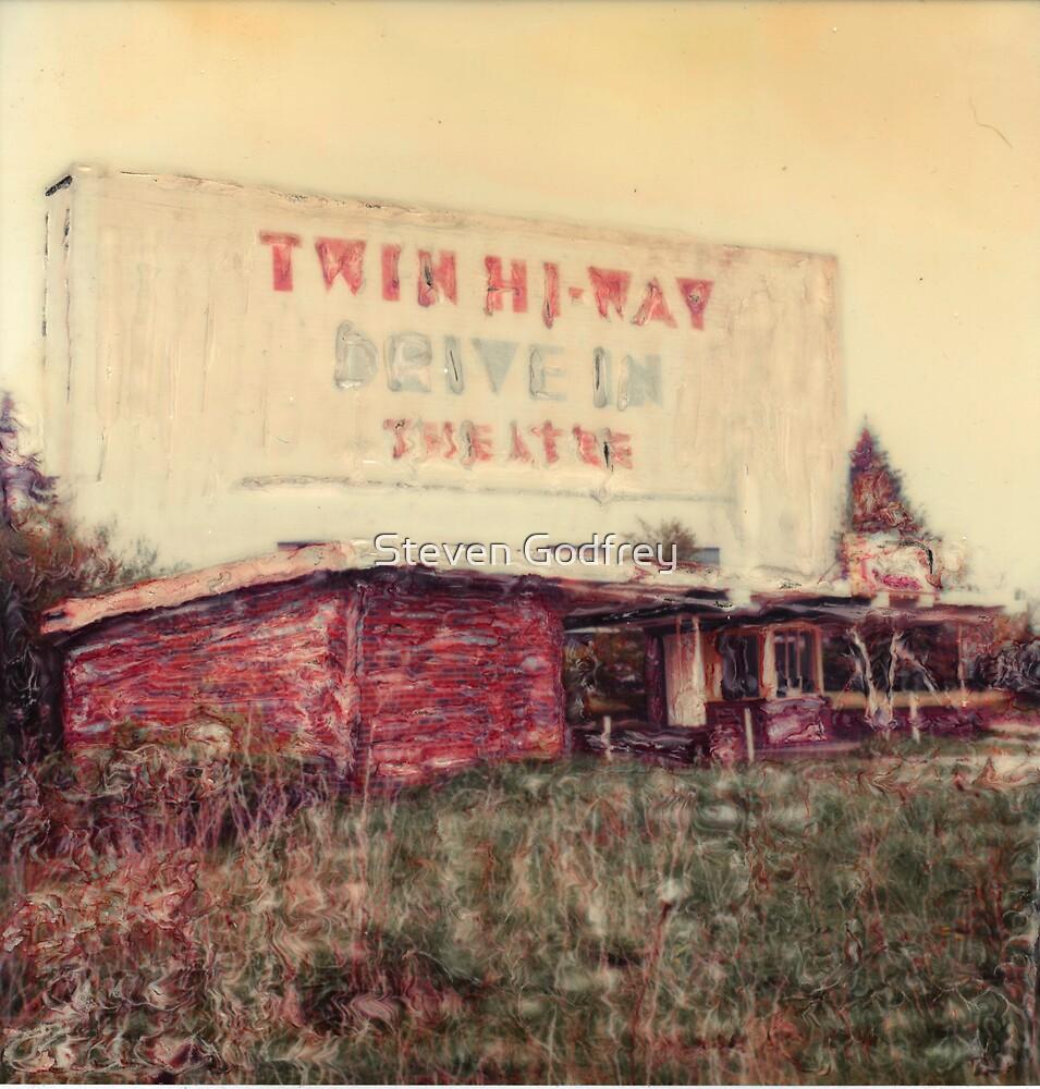 Twin Hi-Way Drive In Alt View by Steven Godfrey