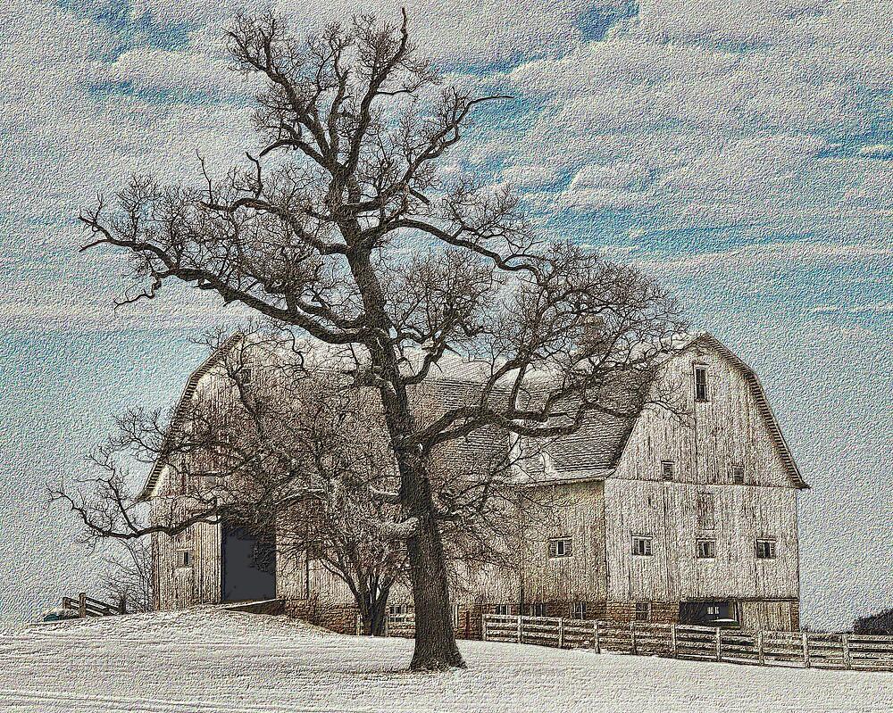 Jeffersonville Barn by VLBarnhill