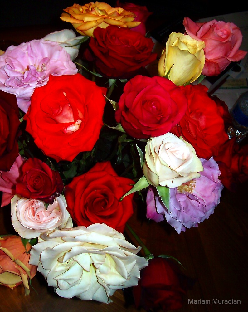 My Roses 17 by Mariam Muradian