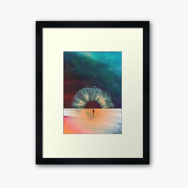 I am dawn Framed Art Print