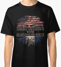 American grown with guatemalan roots Classic T-Shirt