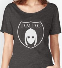 DMDC - Detectorists Logo - White Women's Relaxed Fit T-Shirt