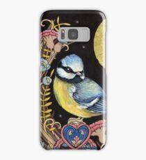 Blue Tits Samsung Galaxy Case/Skin