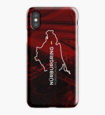 Nurburgring Infographic iPhone Case/Skin