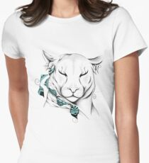 Poetic Cougar Fitted T-Shirt