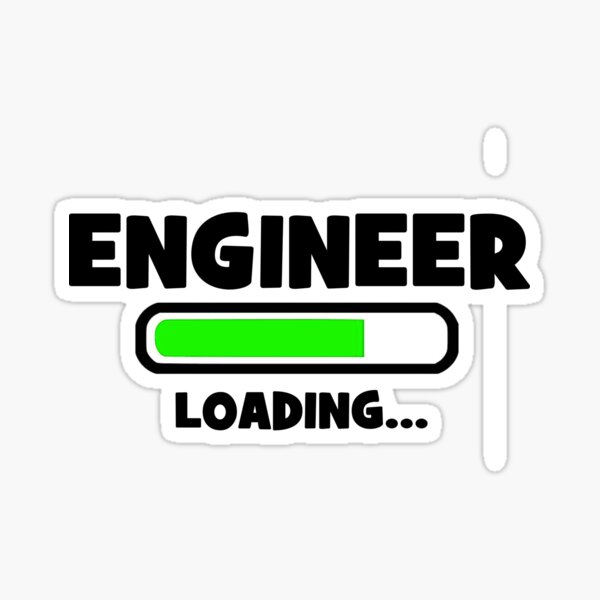 Engineer - Loading Sticker