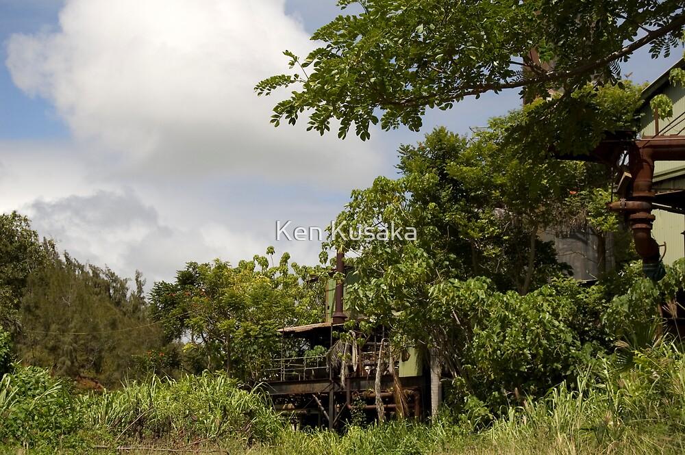 Lihue Sugar Mill by Ken Kusaka