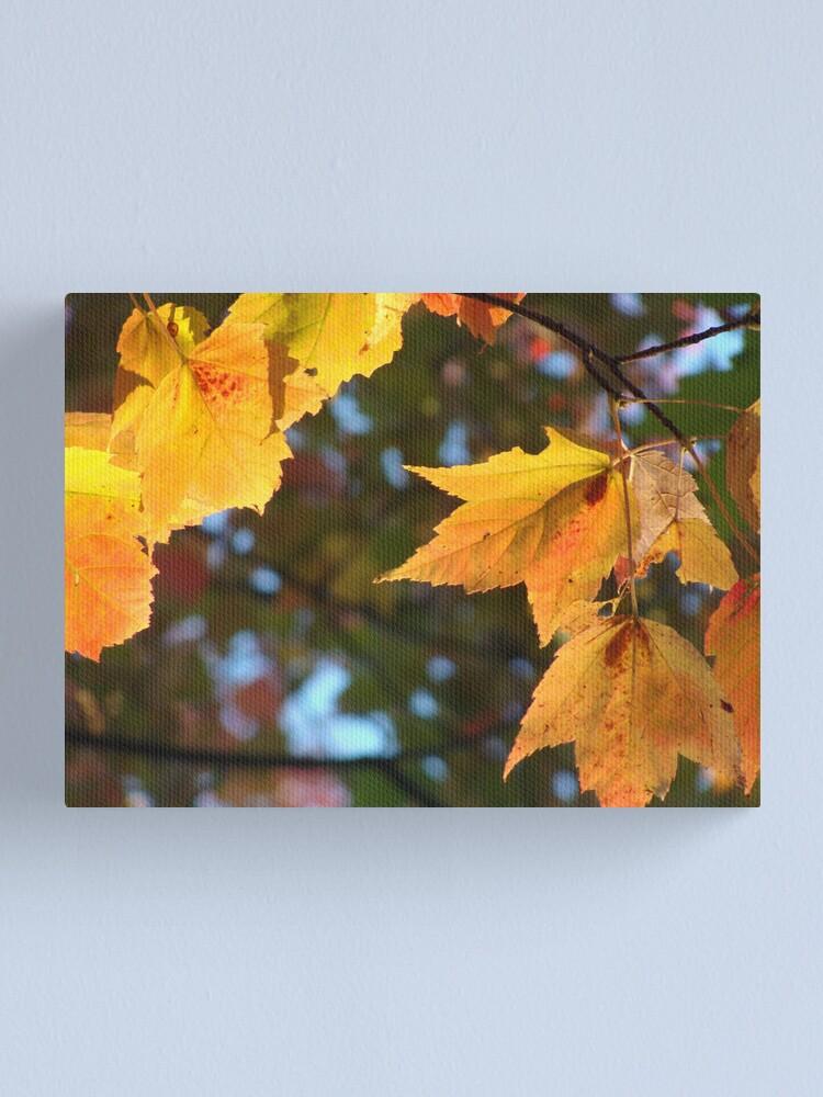 Alternate view of Delicious Autumn Canvas Print