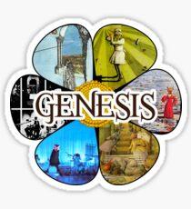 Genesis Peter Gabriel years Sticker