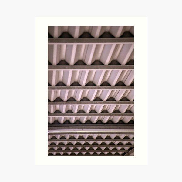 Corrugated Roof Art Print