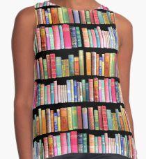 Bookworms Delight / Antique Book Library for Bibliophile Sleeveless Top