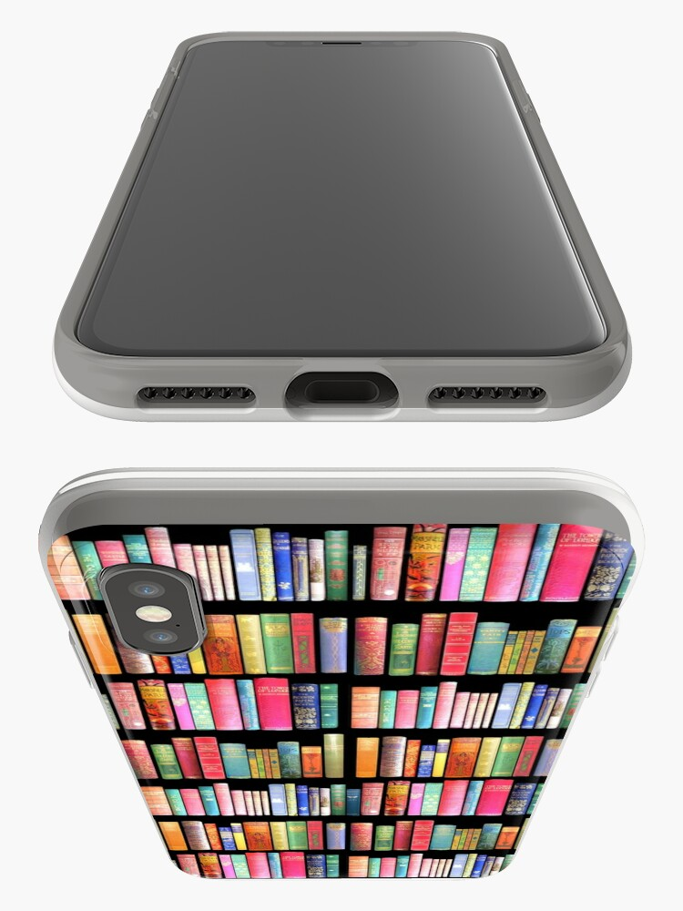 Alternate view of Bookworms Delight / Antique Book Library for Bibliophile iPhone Case & Cover