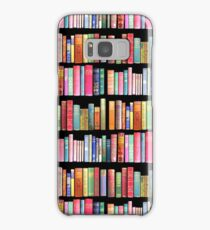 Bookworms Delight / Antique Book Library for Bibliophile Samsung Galaxy Case/Skin