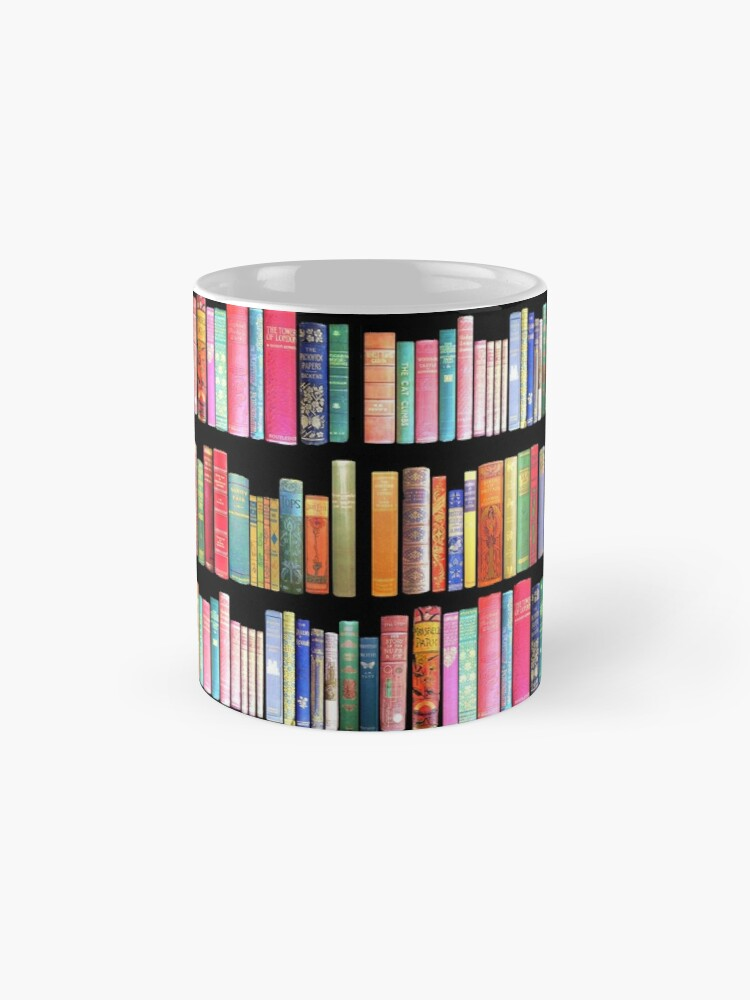 Alternate view of Bookworms Delight / Antique Book Library for Bibliophile Mug