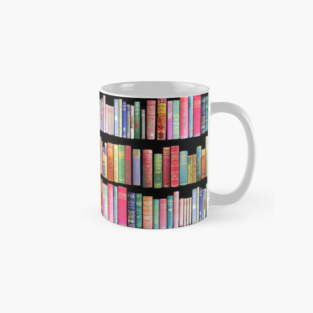 Bookworms Delight / Antique Book Library for Bibliophile Mug