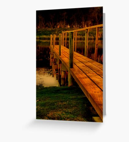"""""""The Jetty"""" Greeting Card"""