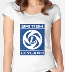 British Leyland Logo Women's Fitted Scoop T-Shirt