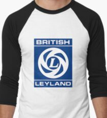 British Leyland Logo Men's Baseball ¾ T-Shirt