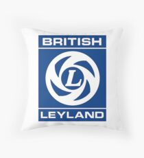 British Leyland Logo Throw Pillow