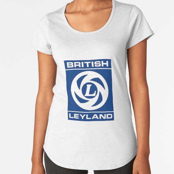 British Leyland Logo Premium Scoop T-Shirt