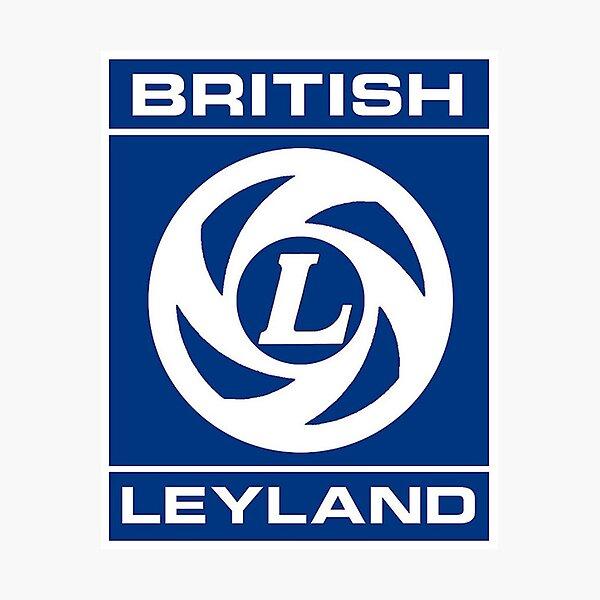 British Leyland Logo Photographic Print