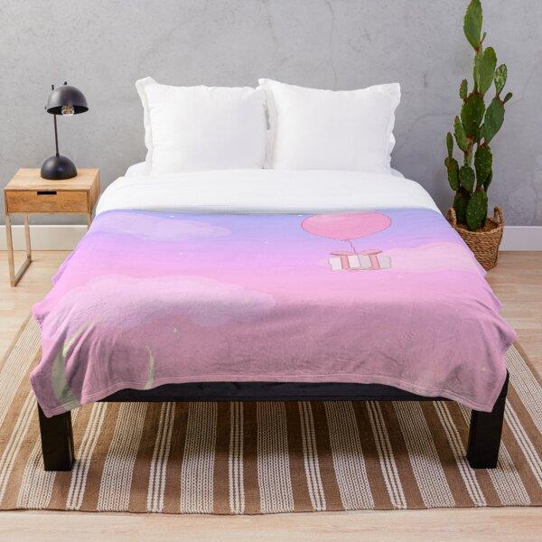 Animal Crossing Sunset Throw Blanket