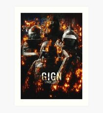 GIGN Art Print