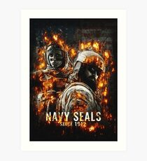 Navy Seals Art Print