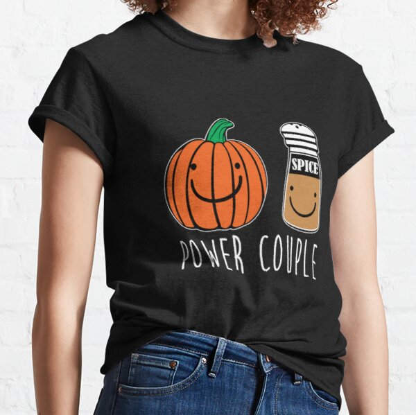 Pumpkin Spice Power Couple Shirt Pumpkin Spice Latte PSL Tee