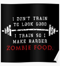 Train for the Zombies Poster