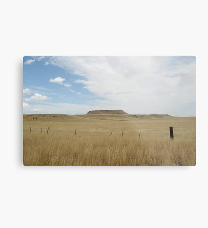 Battle Butte Metal Print