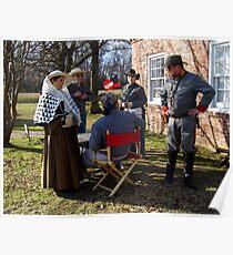 Civil War Re Enactors Poster
