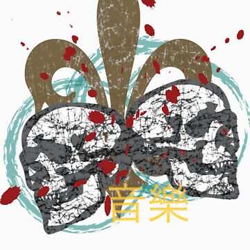 Fleur de Rock Skulls by RockHouseCo