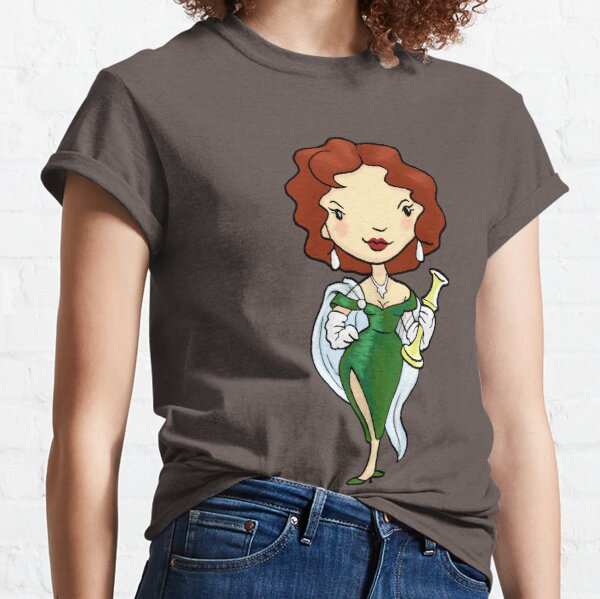 ITS A CLUE! Was it Ms. Scarlet with the CANDLESTICK? Classic T-Shirt