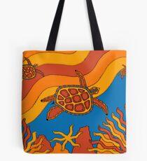 Goorlil - (turtle) lalin season (summer) Tote Bag