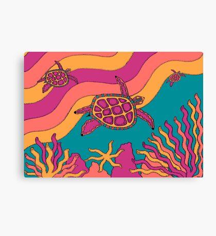 Goorlil - (turtle) jalalay season (spring)  Canvas Print