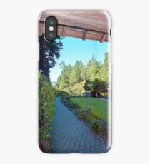 Butchart Gardens 1, 1993 iPhone Case/Skin