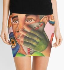 Controlled Chaos  Mini Skirt