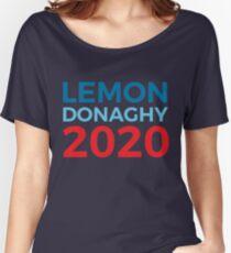 Liz Lemon Jack Donaghy / 30 Rock / 2020 Election / Lemon Donaghy Women's Relaxed Fit T-Shirt