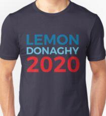 Liz Lemon Jack Donaghy / 30 Rock / 2020 Election / Lemon Donaghy Slim Fit T-Shirt