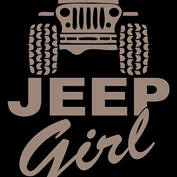 Jeep Girl Gray by SixtyOneDesign