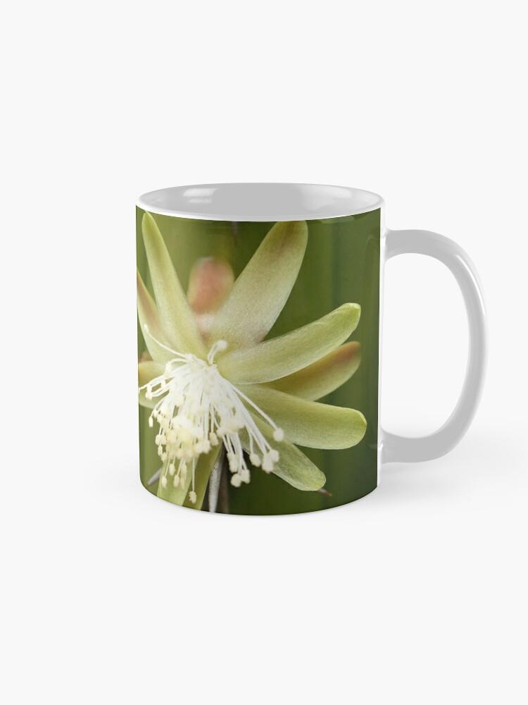 Alternate view of White Cactus flower Mug