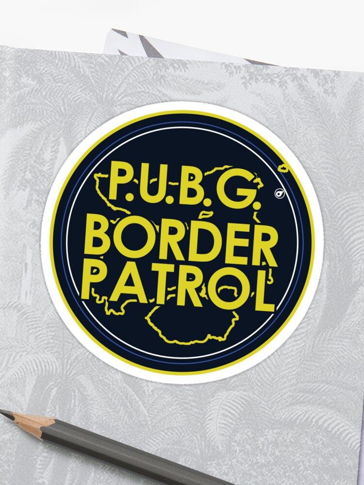 PUBG Border Patrol | Sticker